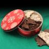 Almond bark tin