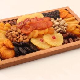 Fruit and nut sampler